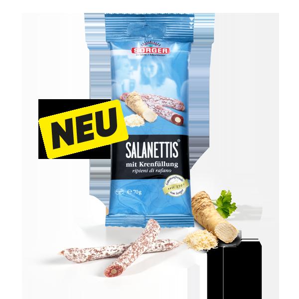 Salanettis® mit Krenfüllung 70g